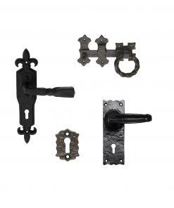 Black Antique Door Handles